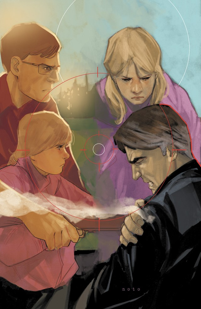 BUTTERFLY #4 Cover by Phil Noto