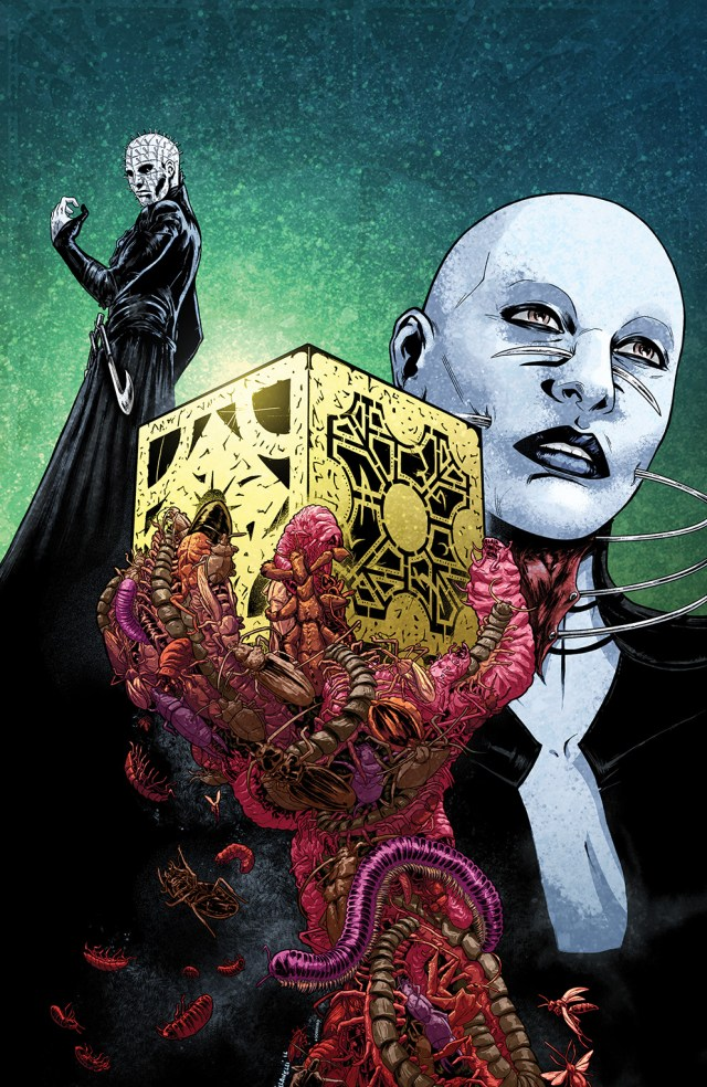 CLIVE BARKER'S HELLRAISER: BESTIARY #5 Retailer Incentive Cover (1:15) by Paolo Villanelli