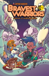 BRAVEST WARRIORS #27 Main Cover by Ian McGinty