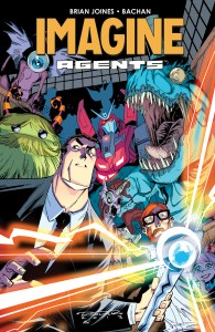 IMAGINE AGENTS TP Cover by Bachan