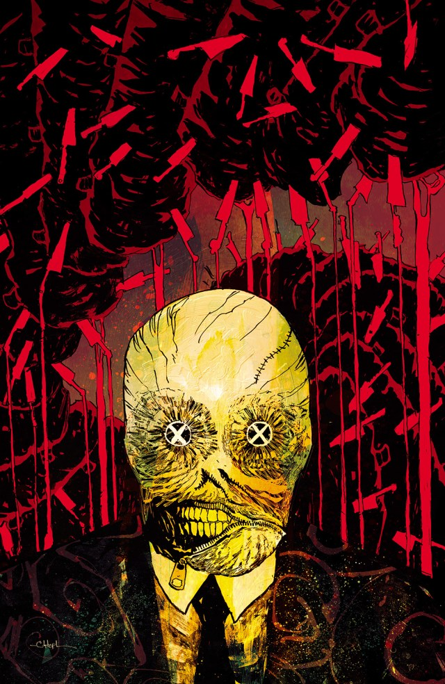 CLIVE BARKER'S NIGHTBREED #8 Retailer Incentive Cover (1:10) by Christopher Mitten