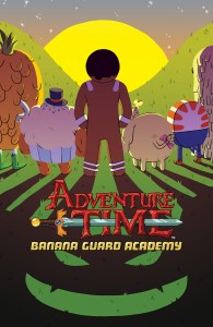 ADVENTURE TIME: BANANA GUARD ACADEMY #6 Main Cover by Aimee Fleck