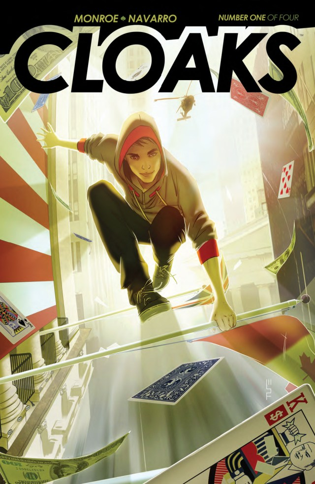 Preview/Review Cloaks #1 - BOOM! Studios