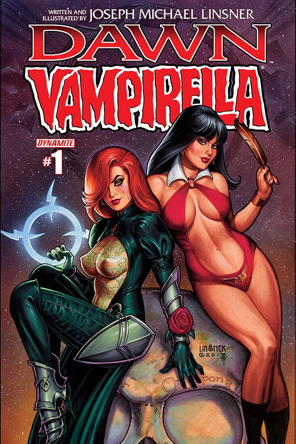 Preview Dawn & Vampirella - New Mini Series from Dynamite!
