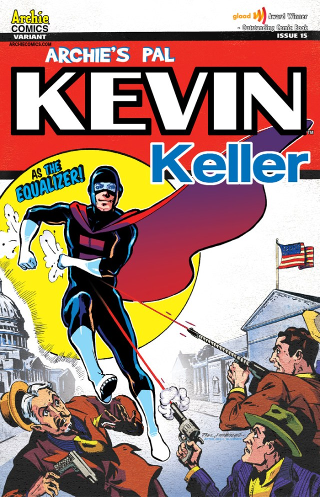 Look Out! Here Comes Kevin Keller Man!?!?