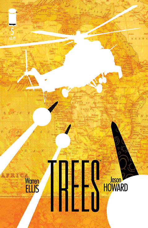 Preview Warren Ellis' Trees #5!