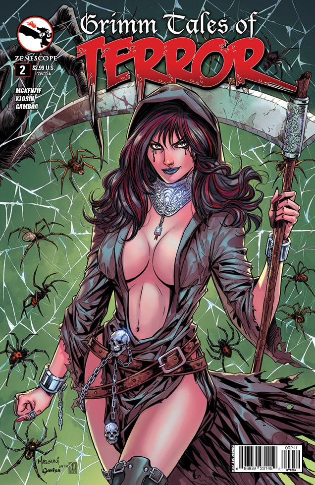 Grimm Tales of Terror #2 - Fantastically Creepy Tales!