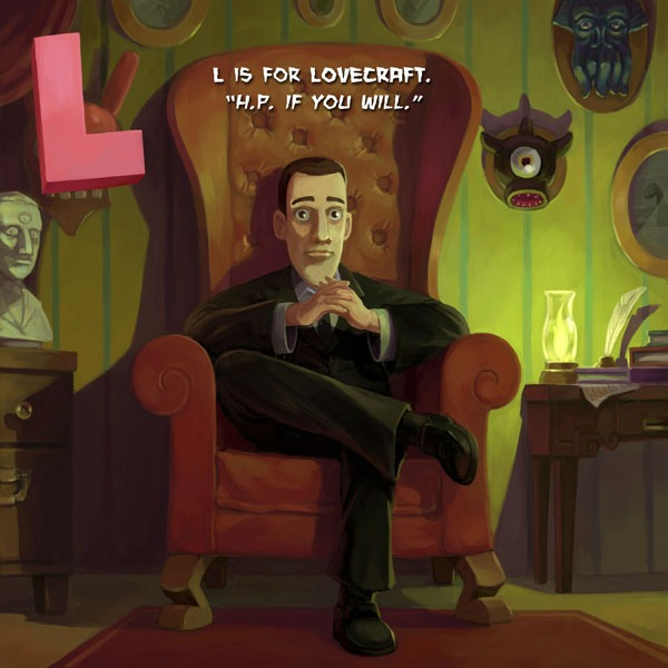l is for lovecraft