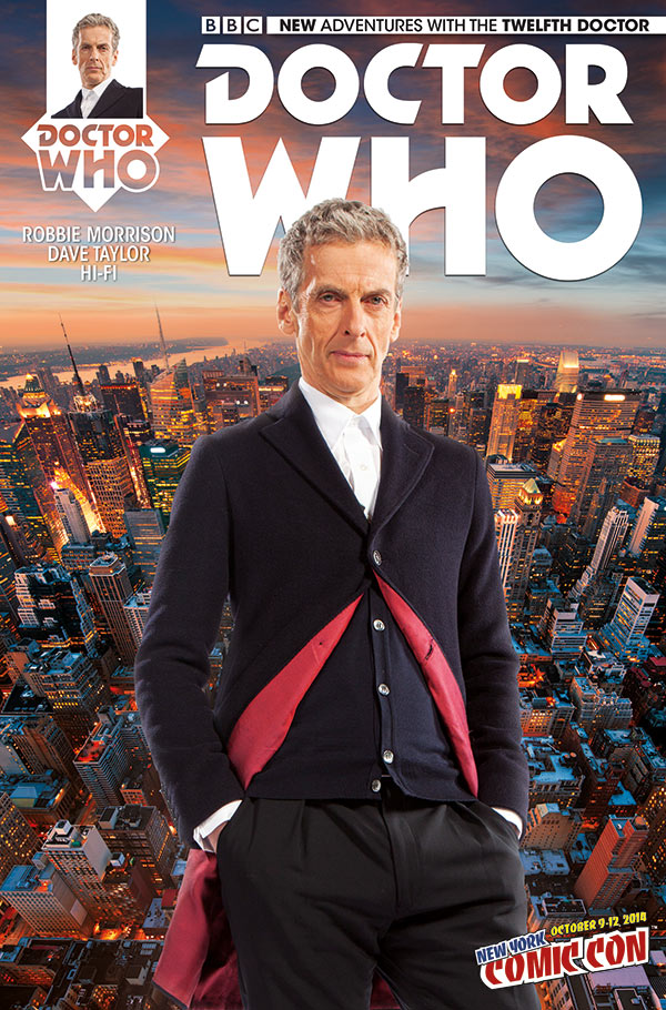 Preview/Review: Doctor Who: Twelfth Doctor #1
