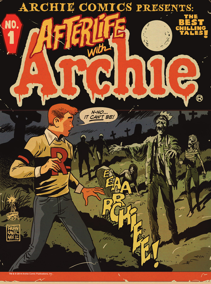 Preview - Afterlife With Archie Magazine #1
