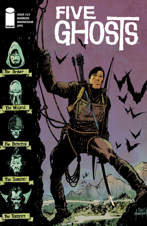 Preview Five Ghosts #13 - In Stores 10/22