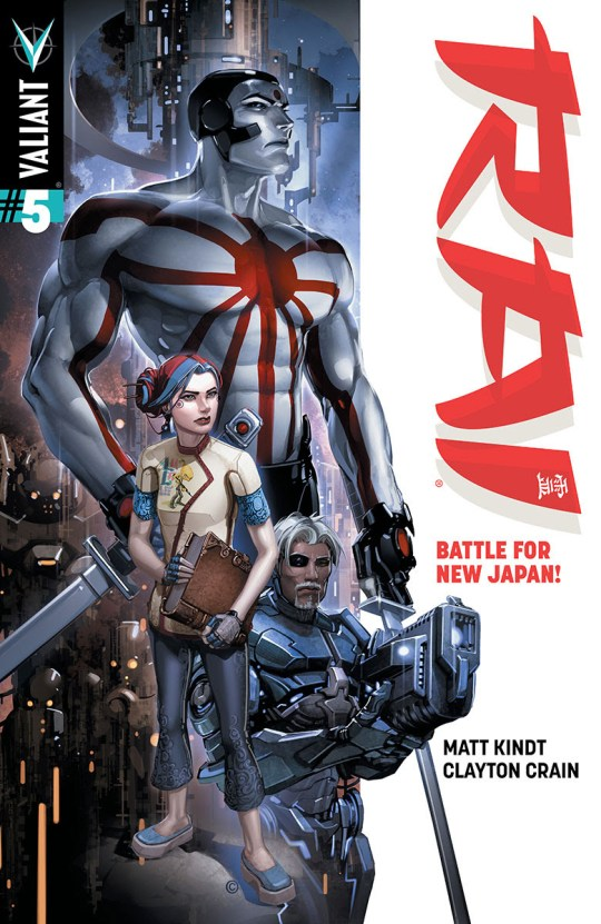 "First Look: RAI #5 – Kindt & Crain Launch ""Battle for New Japan"" in December!"