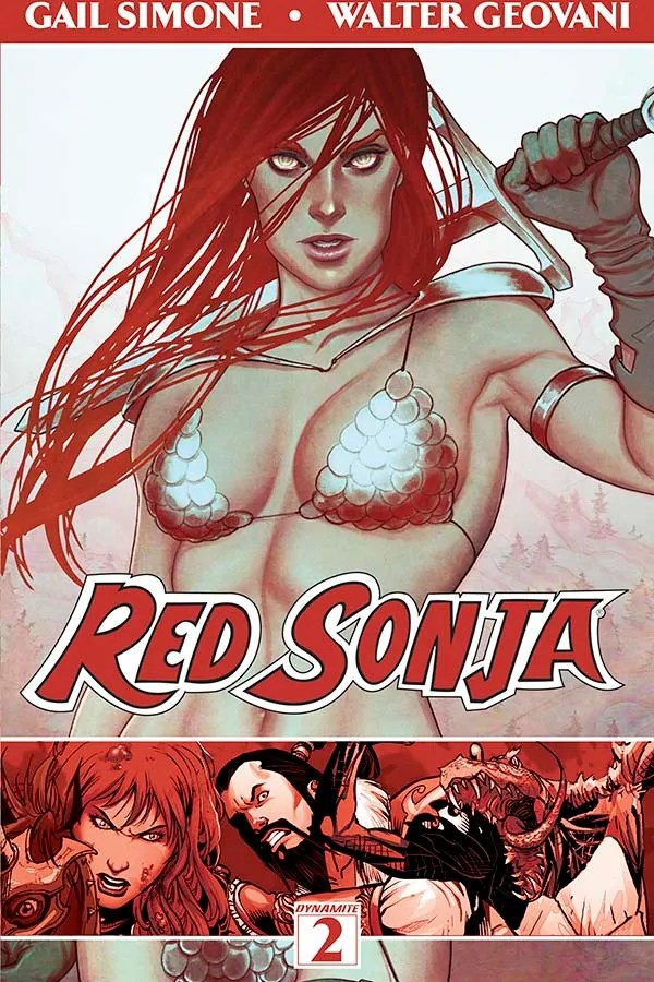 Preview Red Sonja Vol 2 - Hits The Stands Tomorrow 10/22!
