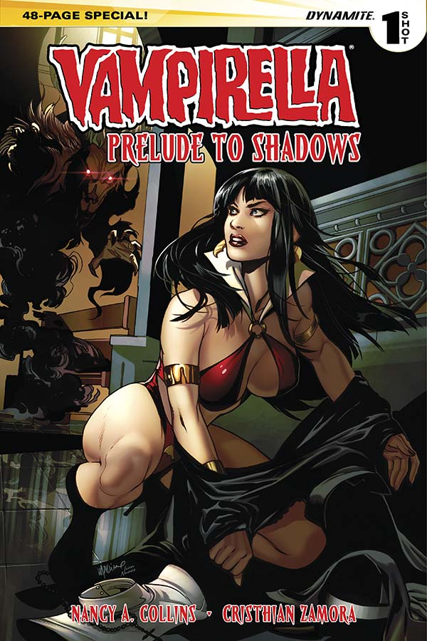 Vampirella: Prelude to Shadows Brings Back a Classic Warren Character!