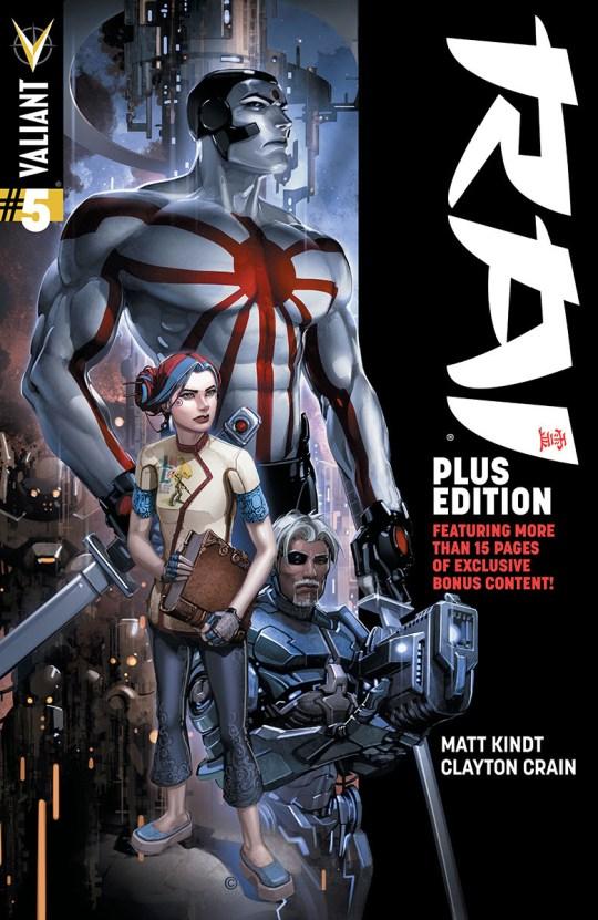 RAI #5 PLUS EDITION – Cover by Clayton Crain
