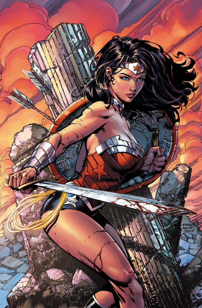 Threat Level: WEDNESDAY!! - Wonder Woman #36 - Finches land on the Goddess of War!!