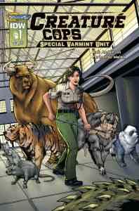 Review - Creature Cops: SPECIAL VARMINT UNIT - Sci-fi Cop Procedural, with Hybrids!