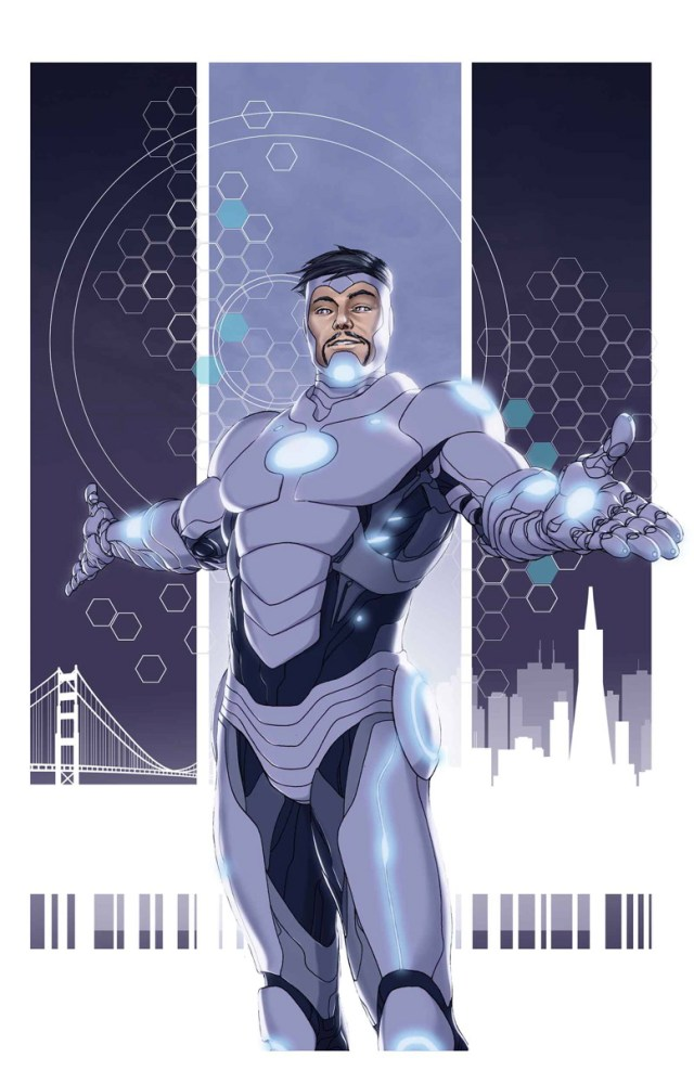 Threat Level: WEDNESDAY! - Superior Iron Man #1 Review...Tony Stark is a D@#$ !
