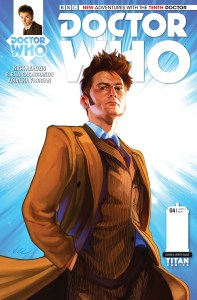 The Tenth Doctor #4 Heads off into Space with a New Companion!