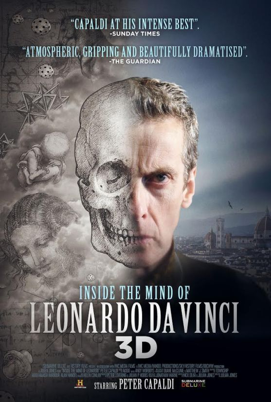 Inside the Mind of Leonardo in 3D to be Released in NYC December 19