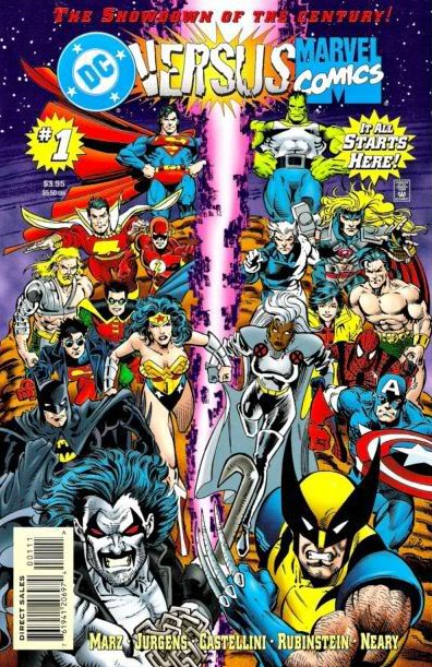 Summer 2015: Marvel's Secret Wars + DC's Convergence = AMALGAM!!! (Maybe?)
