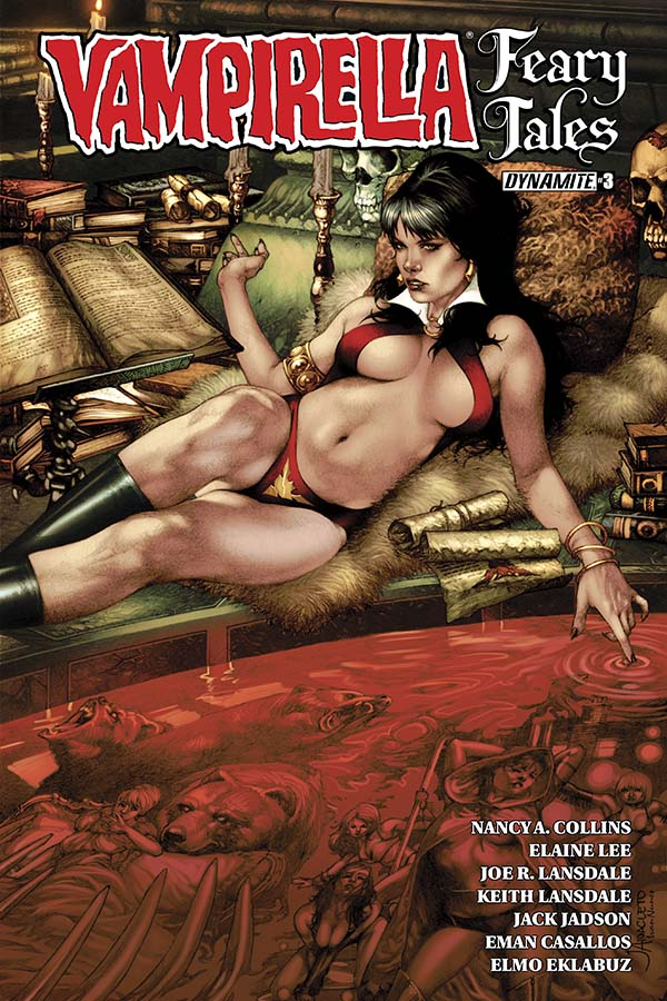Vampirella's Feary Tales - A Creepy Twist on Good Old Fashioned Bedtime Stories!