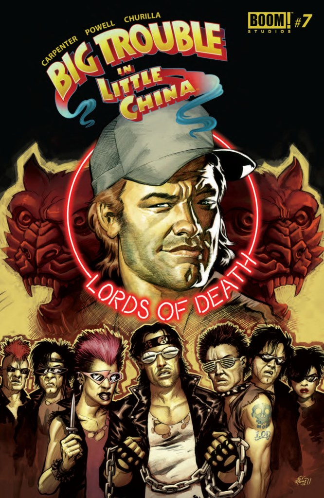 Big Trouble in Little China #7 Keeps On Keeping On!