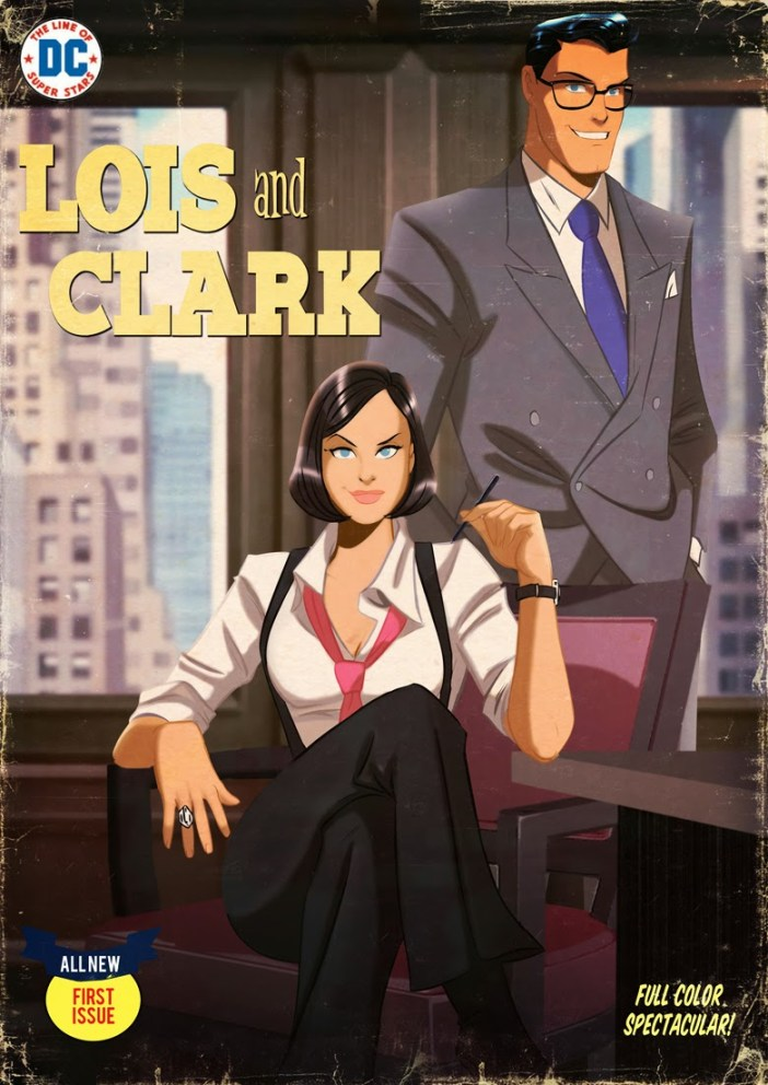 Des Taylor's Lois and Clark - The Best Superman Comic!