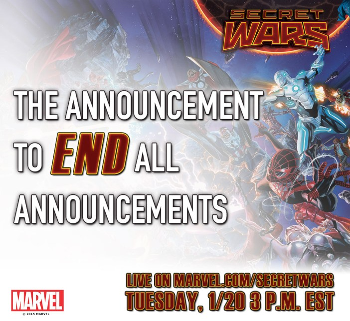 Secret Wars Kickoff?