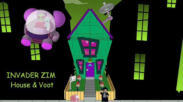 Could an Invader Zim Lego Set be in the works?