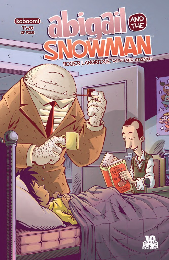 Abigail and The Snowman #2 - The MIBs Are Closing In!