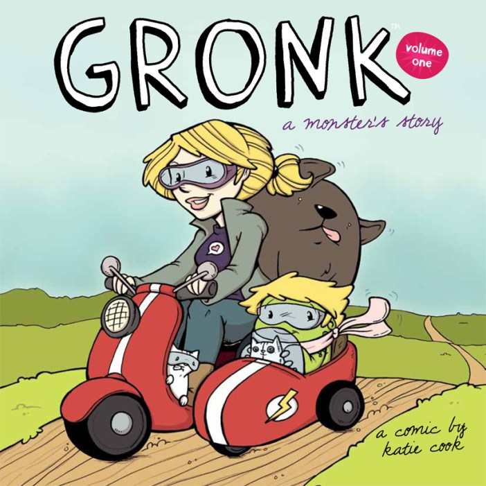 Katie Cook's GRONK gets a trade paperback!