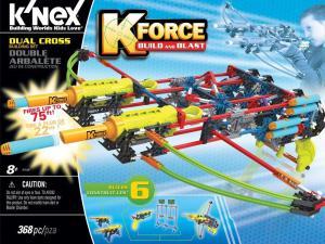 K-FORCE Build and Blast: Dual Cross Building Set