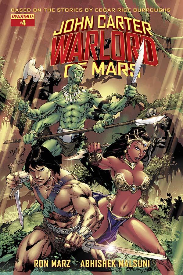 John Carter Warlord of Mars #4 Review