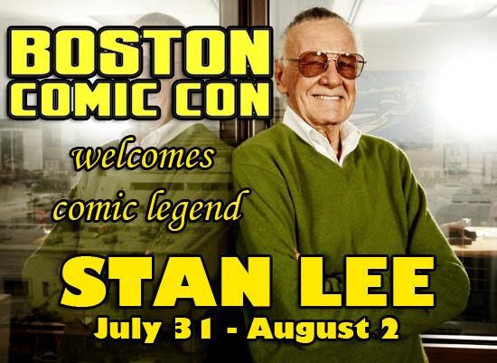 Boston Comic Con Welcomes Stan Lee!
