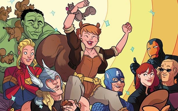 The Unbeatable Squirrel Girl #1 by Erica Henderson