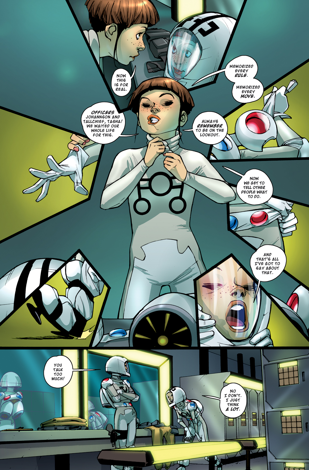 ROCKET GIRL 6 PREVIEW PAGES  Whatcha Reading