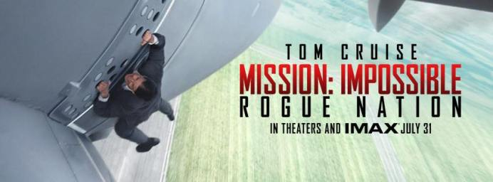 Mission: Impossible - Rogue Nation - First Look and Trailer!