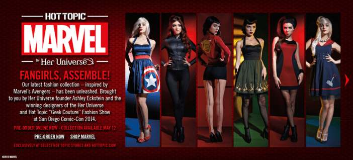 Marvel by Her Universe - Fangirls, Assemble!