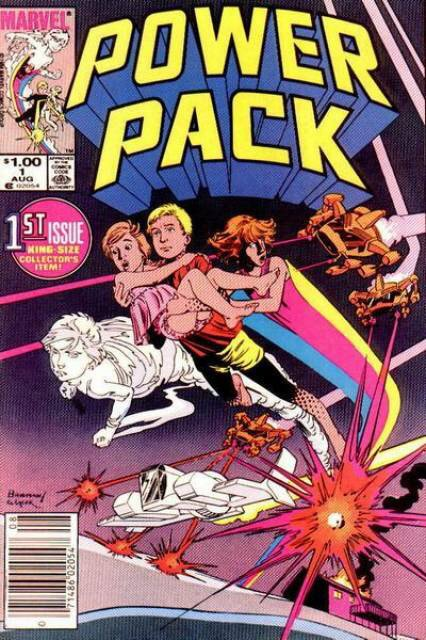 Power Pack #1 by Louise Simonson and June Brigman (1984)