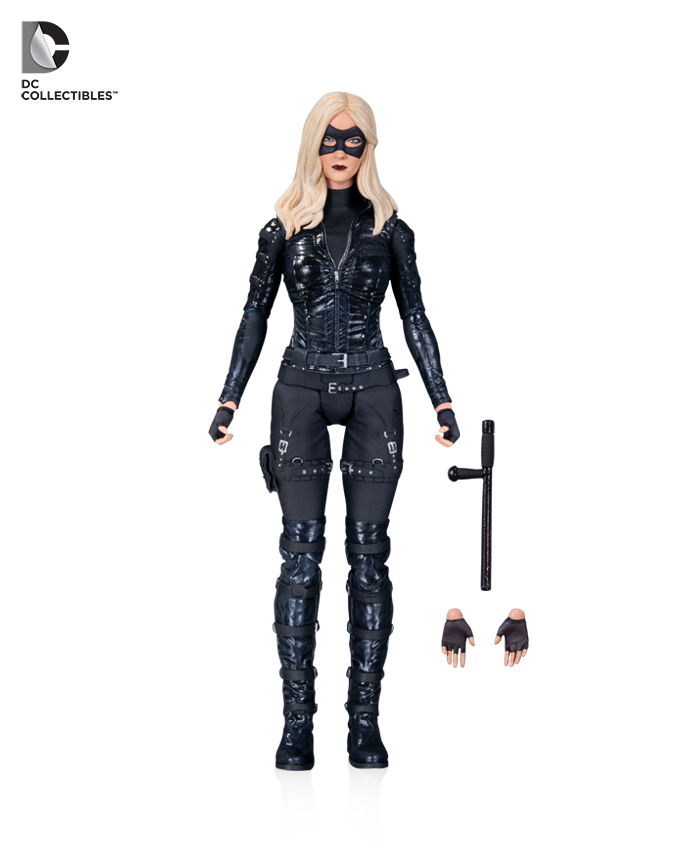 "Hear the Canary Cry! DC Collectibles Announce New ""Arrow"" Figure!"
