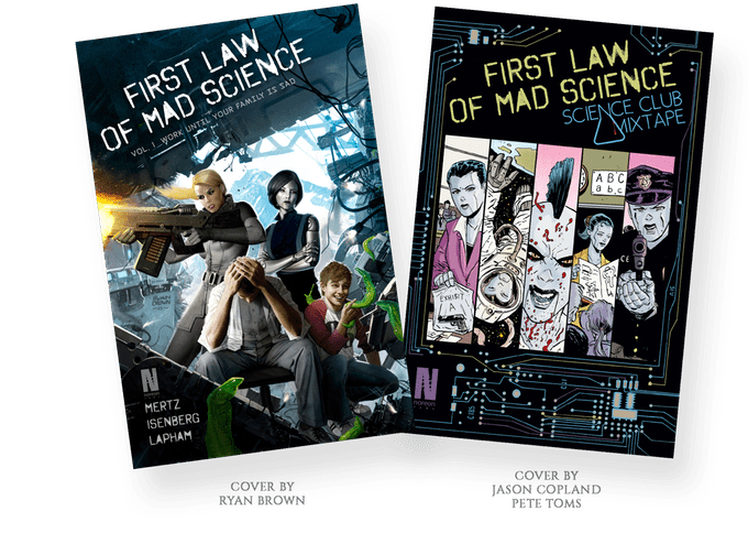 First Law of Mad Science Trade!