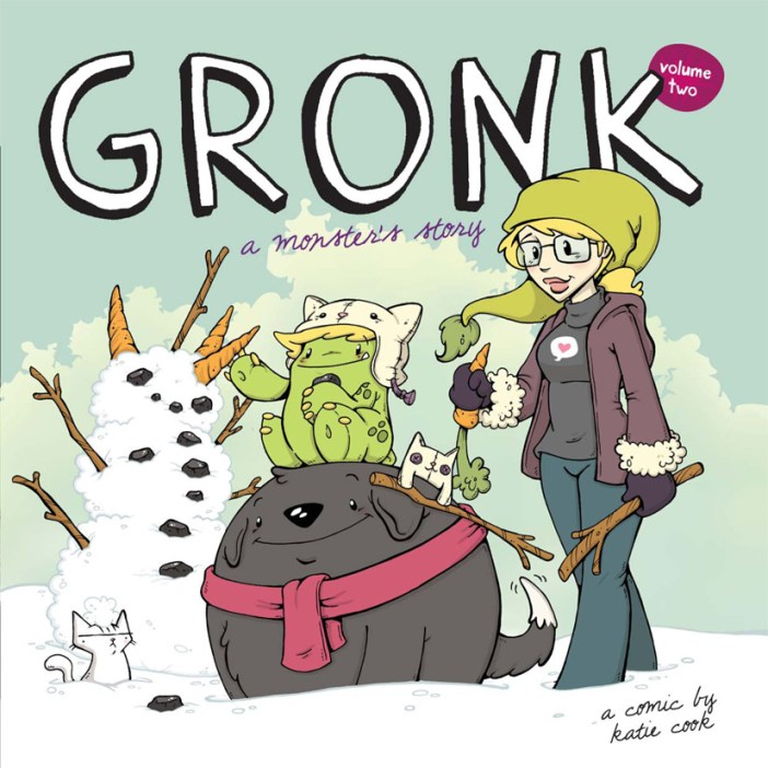 Gronk A Monsters Story Vol. 2 Wednesday May 13th!