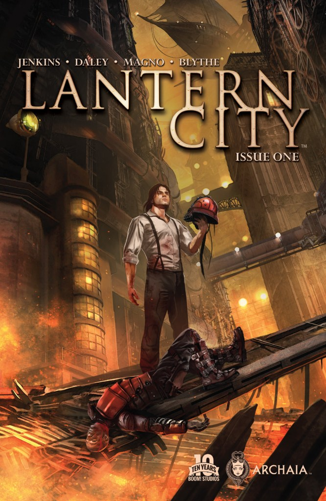 Preview: Lantern City #1 from Archaia