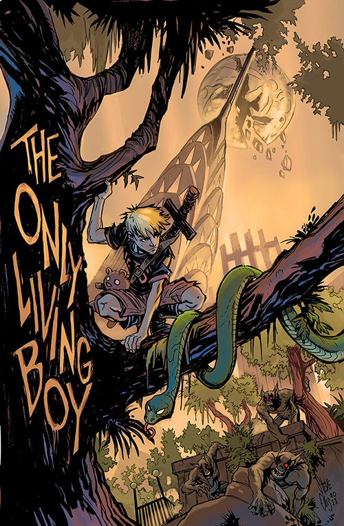The Only Living Boy To Be Published by Papercutz!