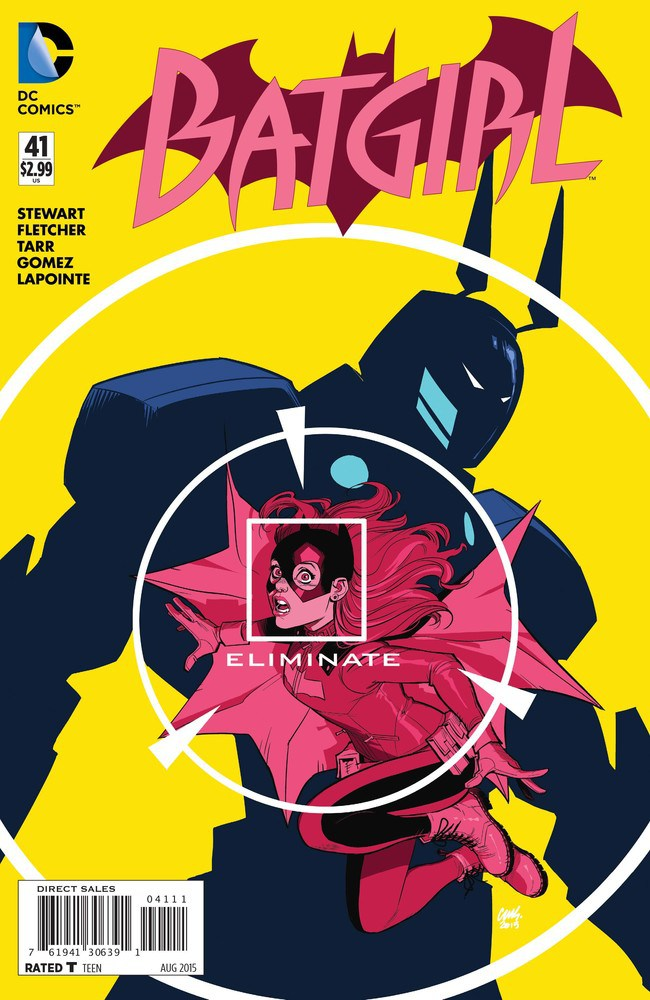 Batgirl issue 41: Is it electrifying?