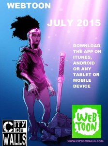 City of Walls Comes to Webtoon - Read it For Free!