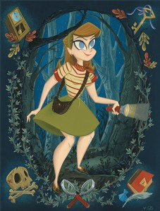 Papercutz 10th Anniversary Nancy Drew Poster is a Must Have!