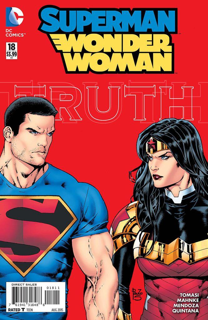 Superman/Wonder Woman issue 18 - Truth & Wonder