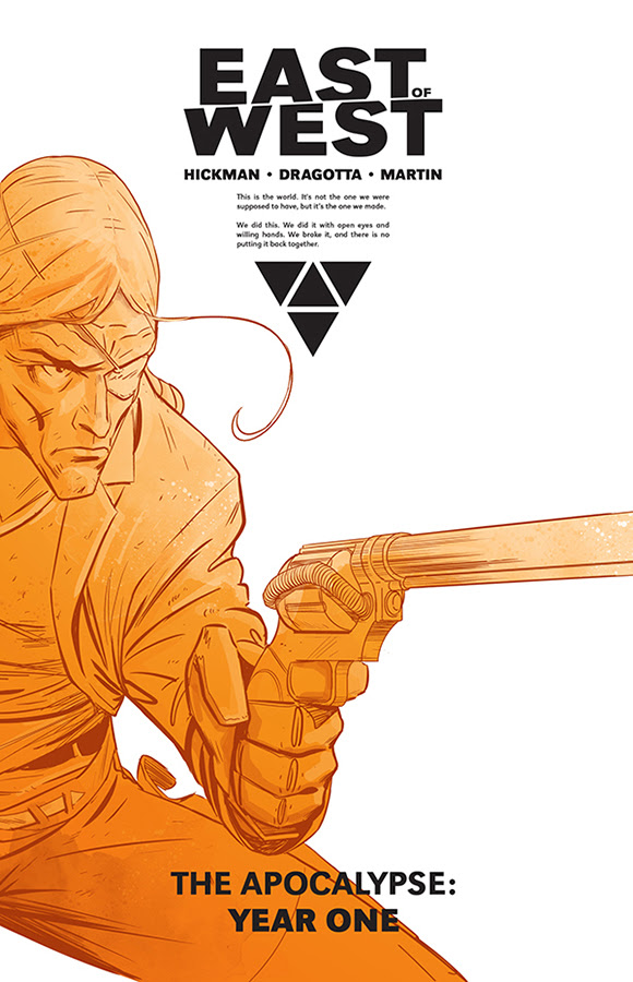 """The Apocalypse Gets a Hardcover - Image Releases """"East of West"""""""